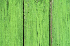 Old wooden background. Green color Old wooden background Stock Images