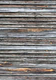 Old wooden background with horizontal boards. Old wooden background with horizontal dark boards royalty free stock photos