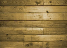 Old wooden background with horizontal boards Royalty Free Stock Photo