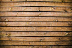 Old wooden background with horizontal boards Stock Image