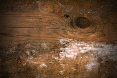 Old Wooden Background with Knot Royalty Free Stock Photos