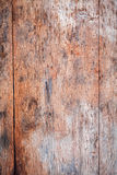 Old wooden background with nails and cracks Royalty Free Stock Image