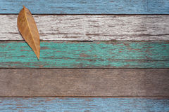 Old wooden background painted blue green white stock photography