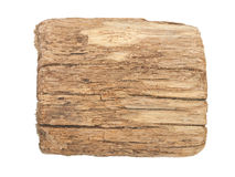 Old wooden background. A sign Stock Photos