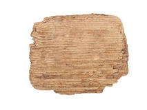 Old wooden background. A sign Royalty Free Stock Photo