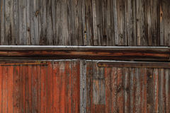 Old wooden background in the street in winter. Old wooden background in the street Stock Images