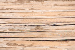 Old wooden background texture  with horizontal planks Stock Photos