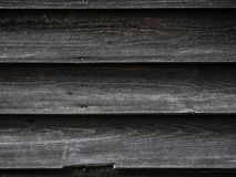 Old wooden background texture on a house. Sand and dirt background texture royalty free stock images