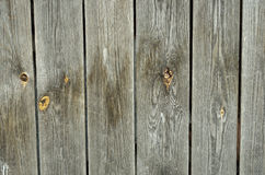 Old wooden background. Background of old textured wood with knots Stock Photo