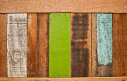 Old wooden background. And textures Stock Photo