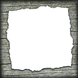 Old wooden background with white center Stock Images