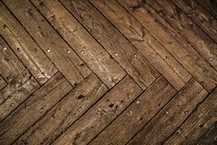 Old wooden background. Wooden table or floor. Stock Photos