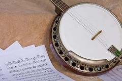 Old Wooden Banjo Royalty Free Stock Image