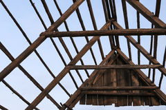 Old wooden barn Stock Photo
