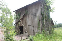 Old wooden barn Royalty Free Stock Images
