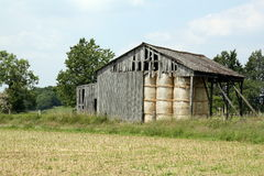 Old wooden barn Royalty Free Stock Image