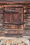 Old wooden barn door Royalty Free Stock Photos