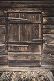 Old wooden barn door Royalty Free Stock Photo