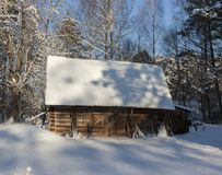 Old wooden shed Royalty Free Stock Photos