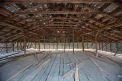Old Wooden Barn Loft Royalty Free Stock Photo