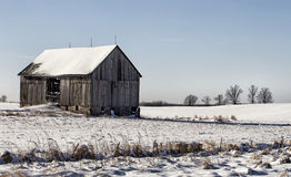 Old wooden barn Stock Photos