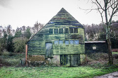 Old wooden barn Surrey UK Royalty Free Stock Image