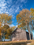 Old wooden barn Royalty Free Stock Photography