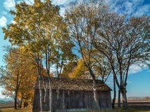 Old wooden barn Stock Photography