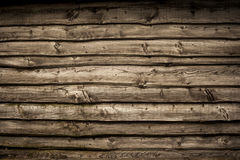 Old wooden barn wall. Background Royalty Free Stock Photos