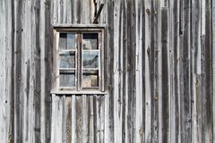 Old wooden barn window Stock Photos