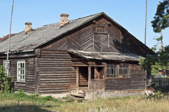 Old wooden hut Stock Photos
