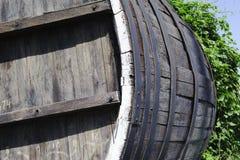 An old wooden barrel Stock Photos