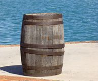 Old Wooden Barrel Stock Photos