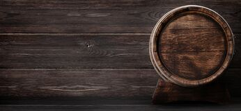 Free Old Wooden Barrel For Wine Or Whiskey Aging Royalty Free Stock Photos - 203656148