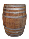 Old wooden barrel Royalty Free Stock Photos