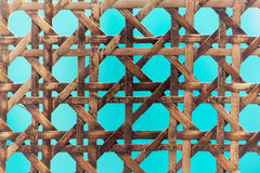 Old wooden basketwork. A macro photo of old wooden basketwork Royalty Free Stock Image