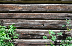 Old wooden beams - background Royalty Free Stock Images
