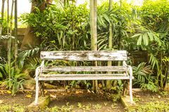 Old wooden bench Stock Photos