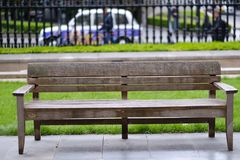 An old wooden bench Royalty Free Stock Photos