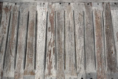 Old wooden bench seat Royalty Free Stock Photo