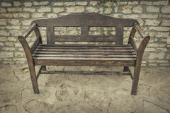 Old wooden bench. Stock Photos