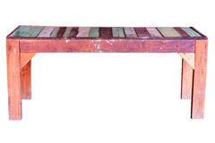 Old wooden bench. Royalty Free Stock Photos