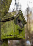 An Old Wooden Bird House Royalty Free Stock Photography