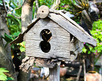 Old wooden birdhouse Royalty Free Stock Photo