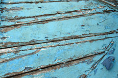 Old wooden blue background Royalty Free Stock Images