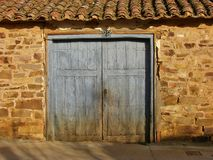 It`s an old door royalty free stock images