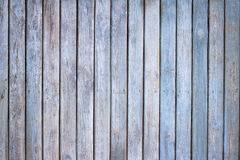 Old wooden blue painted boards background Stock Photo