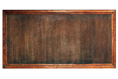 Old wooden board. For menu or notes Stock Photography