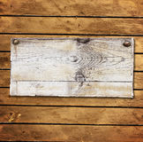 Old wooden board with cracked paint surface Royalty Free Stock Photography