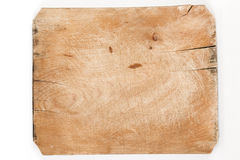 Old wooden board with cracks Stock Photography